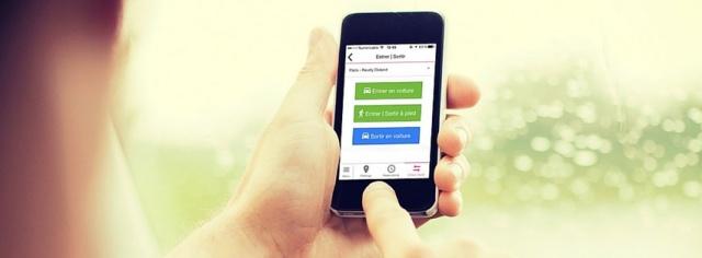 application mobile zenpark