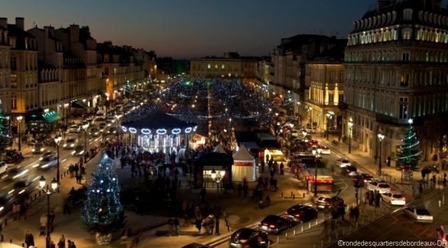 Le marché de Noël de Bordeaux
