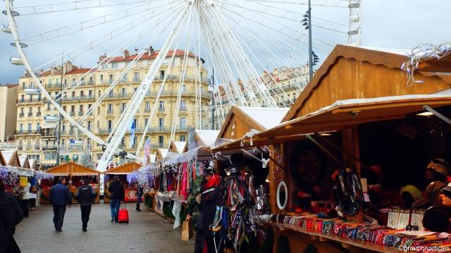 Le marché de Noël de Marseille