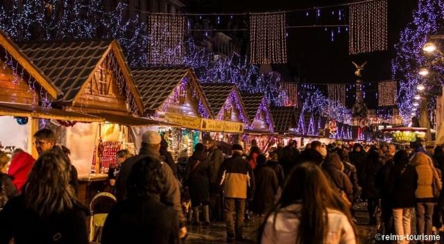 Le marché de Noël de Reims